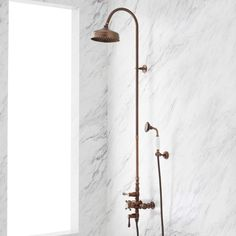 Shower Arm, Rain Shower, Tub Faucet, Shower Faucet, Images Of Small Bathrooms, Oil Rubbed Bronze Faucet, Shower Plumbing, Shower Diverter, Shower Fixtures