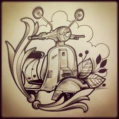 vespa tatoo