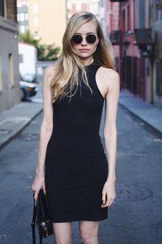 Amatoria Organic Cotton Racerback Dress. @Jessi Parrett de Bergerac  /  long legged lady  #LongLeggedLady