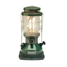 Carry a bright light with fuel versatility when you pack a Coleman Northstar Dual Fuel InstaStart Lantern. This outdoor companion runs on either Coleman Liquid Fuel or unleaded gasoline. The Dual Fuel design is less expensive to run because it uses less f Led Camping Lantern, Camping Lights, Outdoor Lantern, Outdoor Fun, Camping Cornwall, Coleman Lantern, Gas Lanterns, Camping Stove, Camping Gear