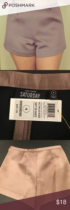 Kate Spade Saturday Party On Shorts 4 Mocha Luxe Kate Spade Saturday Party On Shorts 4 Mocha Luxe Shimmer- Super Flattering!! Great for day or evening events :) kate spade Shorts