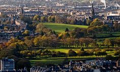The Meadows & Bruntsfield Links - Edinburgh Edinburgh Sights, Edinburgh Castle, Edinburgh Scotland, Daydream, Paris Skyline, Medieval, Dolores Park, Treats, City