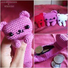 pencil case crochet lapicera