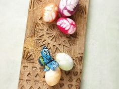 Ostereier - kreativ und raffiniert verziert! - veggie-ei-2  Rezept
