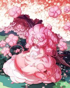 shinepaw: Rose & LionThe finished illustration :)