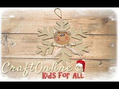 Fiocco di Neve - Kids 4 all special tutorial by CraftOnLine - YouTube