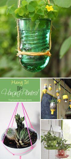 Hang It! • DIY Hanging Planters • Ideas & Tutorials!
