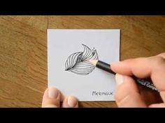 Zentangle® - 10 Pattern Time-Lapse #13 - YouTube