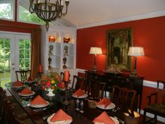 Dining Room ready for the fall---