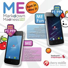 Cherry Mobile Cuts Price of Me and Me Fun, Available for Just Php 1,999