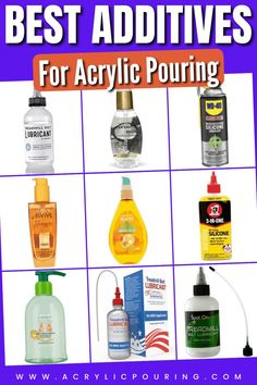 Technically speaking, additives are anything you add to your paints. They could be a simple substance, such as water, or a product made from a few different compounds, such as Floetrol. Additives are intended to change the appearance, character, and/or behavior of the paints you use. #acrylicpouring #additives #cells #floetrol Acrylic Painting Tips, Acrylic Pouring Art, Pour Painting, Woman Painting, Acrylic Paintings, Diy Resin Projects, Diy Canvas Art, Resin Art, Creative