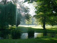 Parque Schillerwiesen em Goettingen, Alemanha.  Fotografia: Ramessos.