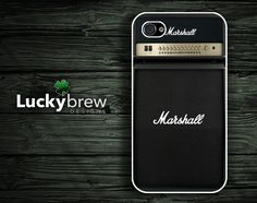 I gotta get this for my hubby!!!    iPhone 4 4s Hard Case - Marshall Guitar Amp Stack - Phone Cover IP4 via @Etsy.