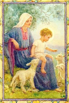 Lamb of God by Margaret Tarrant