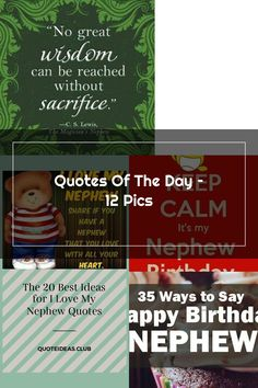 quotes-271 Nephew Quotes, Sayings, My Love, Lyrics, Word Of Wisdom, Quotations, Qoutes, Proverbs