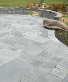 Stone Patio Ideas – In this list, you can find some very interesting stone patio areas, so if you have even a remote intere . - CLICK THE IMAGE for Lots of Patio Ideas, Patio Furniture and other Perfect Patio Inspiration. Stone Patio Designs, Paver Designs, Backyard Patio Designs, Diy Patio, Backyard Landscaping, Landscaping Ideas, Backyard Ideas, Patio Slabs, Flagstone Patio