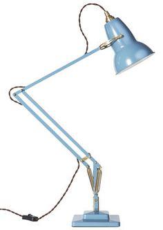 Lampe de table Original 1227 Laiton Bleu - Anglepoise - Décoration et mobilier design avec Made in Design