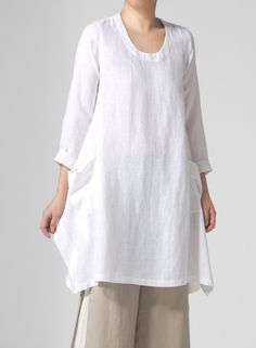 Like the cut and pockets of this tunic