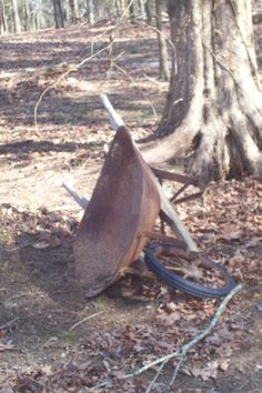 rusty old wheel barrow chapter 2 this is the wheel barrow he pushes his dead body on