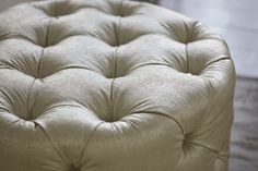 Gorgeous gold footstool