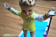 How to make gymnastics grips for american girl dolls (dolldiaries.com)