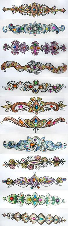 Мотивы орнаментов - Страница 1 - Форум танца живота