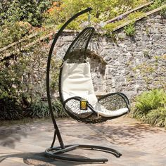 Cheap furniture garden furniture, Buy Quality furniture set directly from China furniture chairs Suppliers: Garden rattan hammock chair set furniture with cushions Hammock Chair Stand, Hanging Swing Chair, Swinging Chair, Rope Hammock, Hanging Chairs, Hanging Baskets, Rattan Garden Chairs, Rattan Lamp, Patio Swing