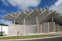 Arena do Morro de Herzog & de Meuron por Leonardo Finotti