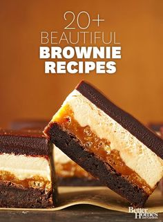 Our favorite brownie recipes will please all of your holiday guests!