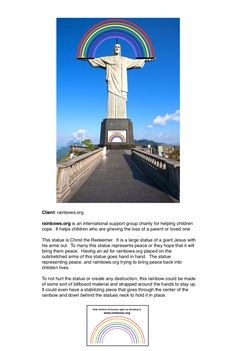 Christ The Redeemer, Helping Children, Guerrilla, Charity, First Love, Parenting, Statue, Raising Kids, Sculpture