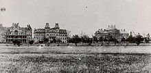 "(Image:  Texas A in 1902).  ""Texas A University (often referred to as A or TAMU) is a coeducational public research university located in College Station, Texas, United States. It is the flagship institution of the Texas A University System. The sixth-largest university in the United States, A's enrollment for Fall 2011 was over 50,000 for the first time in school history....  The first public institution of higher education in Texas, the school opened on October 4, 1876."""