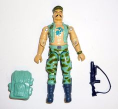 GI Joe Body Part 1992 Gung-Ho V3     Right Arm           C8.5 Very Good