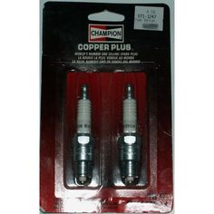 2 New Champion Spark Plug NIP Diameter mm Reach Listing in the Spark Plugs & Glow Plugs,Ignition System,Cars Parts & Accessories,Parts & Accessories,Cars & Vehicles Category on eBid Canada Car Parts, Truck Parts, New Champion, Ignition System, Spark Plug, Plugs, Glow, Canada, Trucks