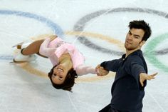 Meagan Duhamel and Eric Radford, CAN - Canadian figure skating pairs in fifth and sixth place after short program