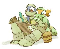 16 Best TMNT Rules!: Mikey and Donnie images in 2014