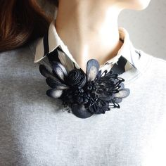 #emitakazawa #accessory #necklace #silk