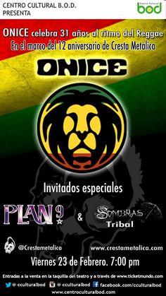 Onice celebra 31 años al ritmo del reggae http://crestametalica.com/onice-celebra-31-anos-al-ritmo-del-reggae/ vía @crestametalica