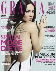 Megan Fox @ Grazia