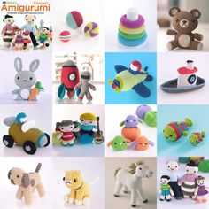 lalala + Tuva Publishing: {Amigurumi. 15 Differents Amigurumi Projects to Crochet}