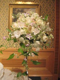 ブーケ 楽園 ホテルオークラ様へ : 一会 ウエディングの花