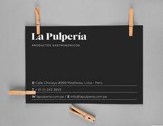 Gabriela Maskrey, La Pulperia branding, graphic design