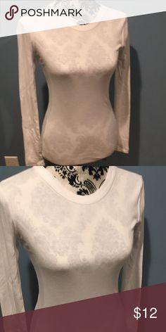 04de9bf083 GAP Bowery Super Soft Tee Never worn. White long sleeve tee. Cotton modal  blend. GAP Tops Tees - Long Sleeve