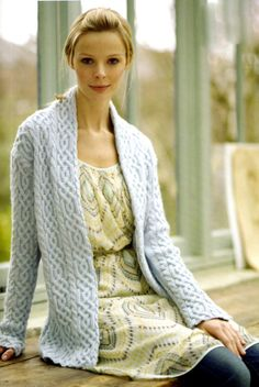 Debbie Bliss Merino Cabled Jacket