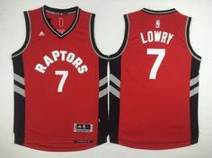 aab4b230b Men s Toronto Raptors  7 Kyle Lowry Revolution 30 Swingman 2014 New Red Jersey  Kyle Lowry