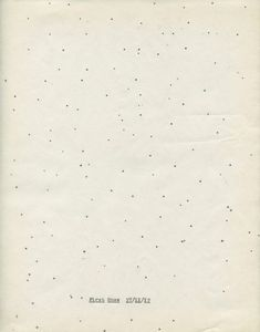 Typewriters drawings - 'First Snow' by Michael Crowe and Lenka Clayton
