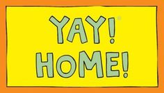 YAY! HOME! magnet - YAY! LiFE!