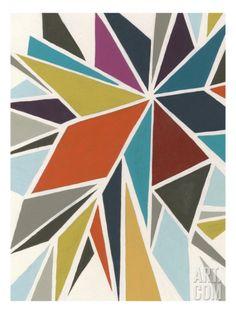 Pinwheel I Giclee Print by Erica J. Vess at Art.com