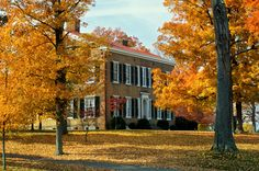 Bardstown, Kentucky:  50 Small Towns Across America With the Most Beautiful Fall Foliage