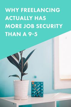 Why Freelancing Actually Has More Job Security Than a 9-5 | Think freelancers are poor and always worried about where their next payment will come from. Oh, my friend, that just isn't right! As a freelancer, I've TRIPLED my income and have more job security (and happiness) than ever before. Here's why...