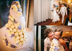 puff pastry wedding cake